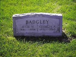 Georgia A. <i>Jenkins</i> Badgley