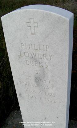 Phillip Lowery Beeks, III