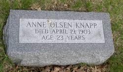 Anne Olsen Knapp