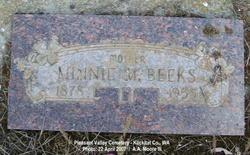 Minnie May <i>Tuttle</i> Beeks