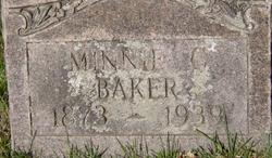 Minnie Mary <i>Campbell</i> Baker