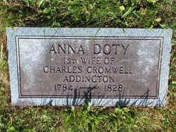 Anna <i>Doty</i> Addington
