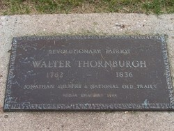 Walter H Thornburgh