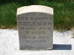 Betsey Ann Coleman