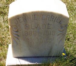Jennie Emily <i>Merrill</i> Slade