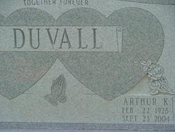Arthur K Duvall
