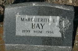 Marguerite L. <i>Sunbury</i> Bay
