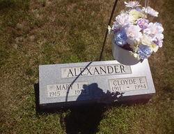 Mary Irene <i>Davis</i> Alexander