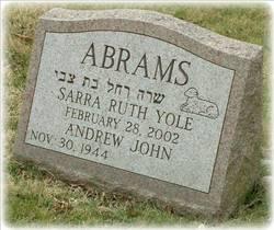Sarra Ruth Yole Abrams