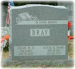 Achsa G. <i>Hume</i> Bray