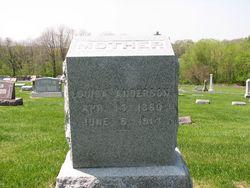 Louisa <i>Eberhardt</i> Anderson