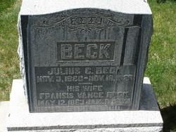 Rhoda Fransis <i>Vance</i> Beck