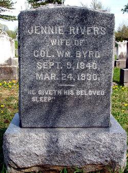 Jennie Rivers Byrd
