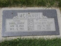 Sarah Ann <i>Clark</i> McDaniel
