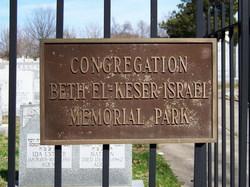 Congregation Beth El Keser Israel Memorial Park