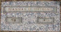 Hannah C. <i>Schuermann</i> Haskins