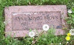 Anna <i>Snygg</i> Brown