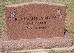 Ruth <i>Wallden</i> Bixler
