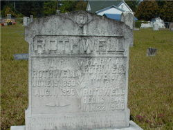 Mary Ann <i>May</i> Rothwell