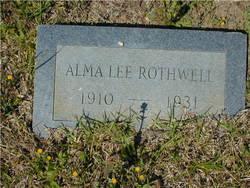 Alma Lee Rothwell