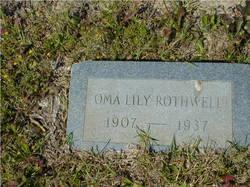 Oma Lily Rothwell