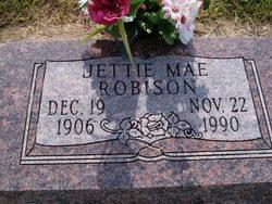 Jettie Mae <i>Thompson</i> Robison
