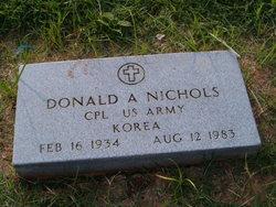 Donald Arlin Nichols