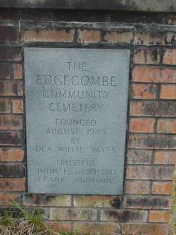 Edgecombe Community Cemetery