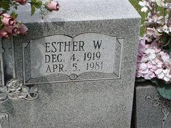 Esther Lorene <i>Walls</i> Edde