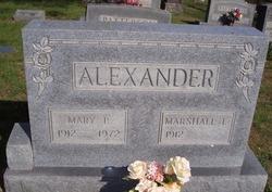 Marshall T Alexander