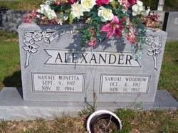 Samual Woodrow (Woodie) Alexander