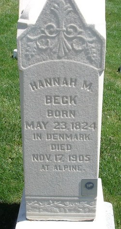 Hannah M. Beck