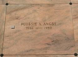 Flossie Alta <i>Baker</i> Angst