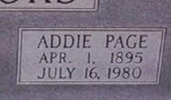 Addie <i>Page</i> Brooks
