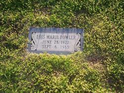 Lois Marie Fowler