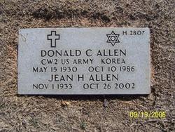 Donald C Allen