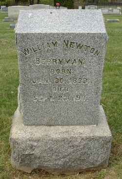 Pvt William Newton Berryman