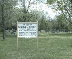 Freedom Church of Christ Cemetery