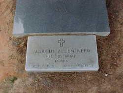 PFC Marcus Allen Reed