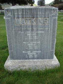 Mary A <i>Hammond</i> Watkins