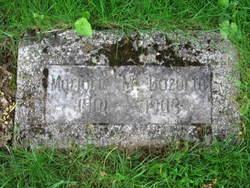 Marjorie M Bozorth