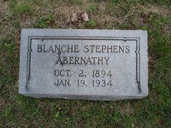 Blanche <i>Stephens</i> Abernathy
