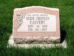 Elsie Shovlin <i>Williams</i> Calvert