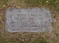 Annie S <i>Baker</i> Miller