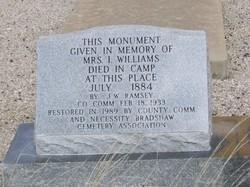 Mrs I. Williams