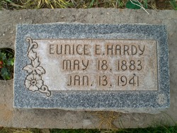 Eunice Eliza <i>Sanders</i> Hardy