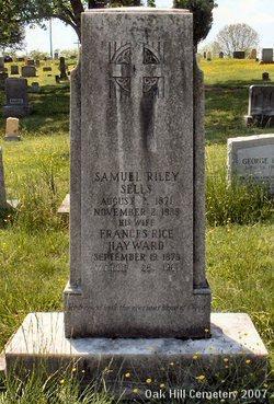 Sam Riley Sells