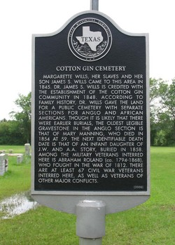 Cotton Gin Cemetery