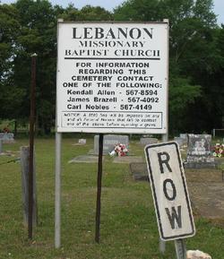Lebanon Missionary Baptist Church Cemetery