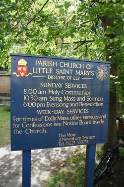 Little Saint Mary Churchyard